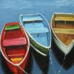 Boats 31 20x24